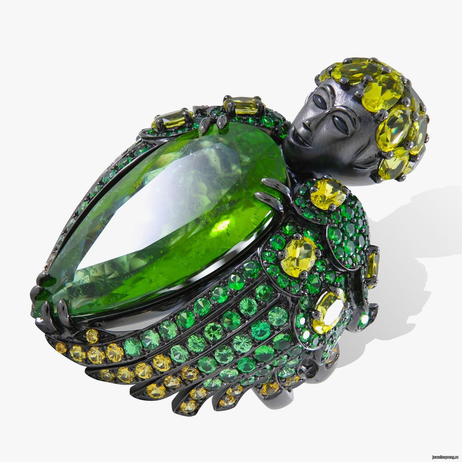 Lydia Courteille Jewellery Rainbow Warrior Collection: Коллекция Queen Of Sheba от Лидии Куртель