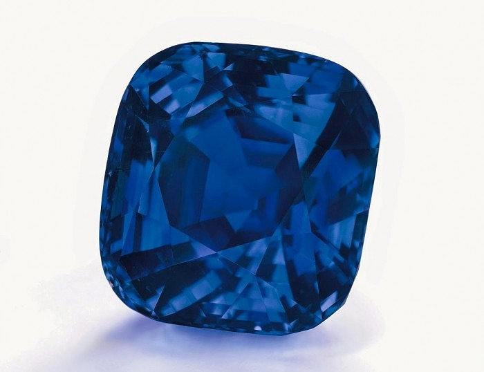 7_Cushion shaped Kashmir sapphire ring of 35.09 ct