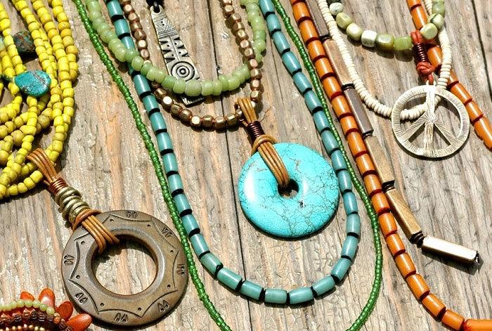 Украшения в стиле бохо. Фото: 7colorz.com