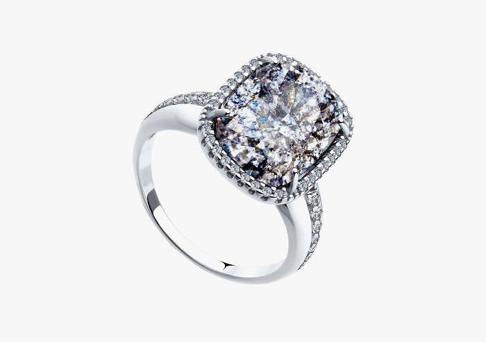Кольцо из серебра SOKOLOV из коллекции Hollywood 94011943 (Custom)