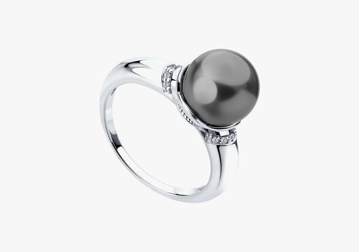 Кольцо из серебра SOKOLOV из коллекции Hollywood 94011937 (Custom)