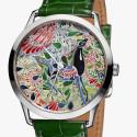 Часы Slim d'Hermès Mille Fleurs du Mexique