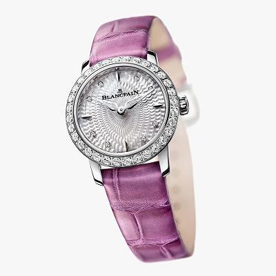 Часы Ladybird с розовым ремешком от Blancpain