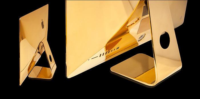 Goldgenie Apple iMac вид сзади