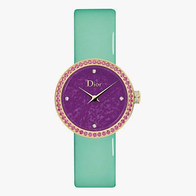Часы D de Dior с циферблатом из сугилита