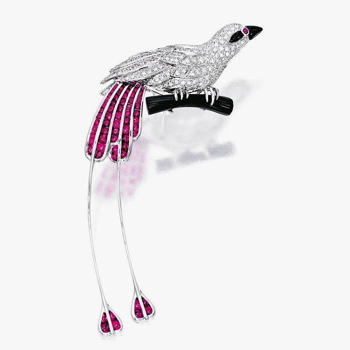 Брошь-птица от Cartier