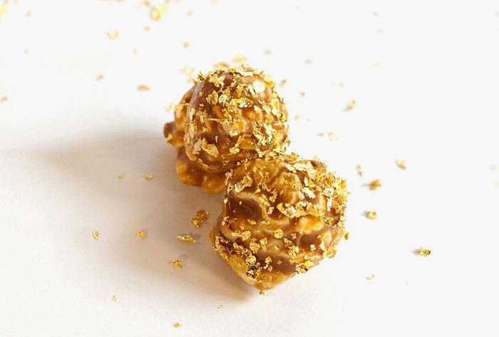 Золотой попкорн от Bercos