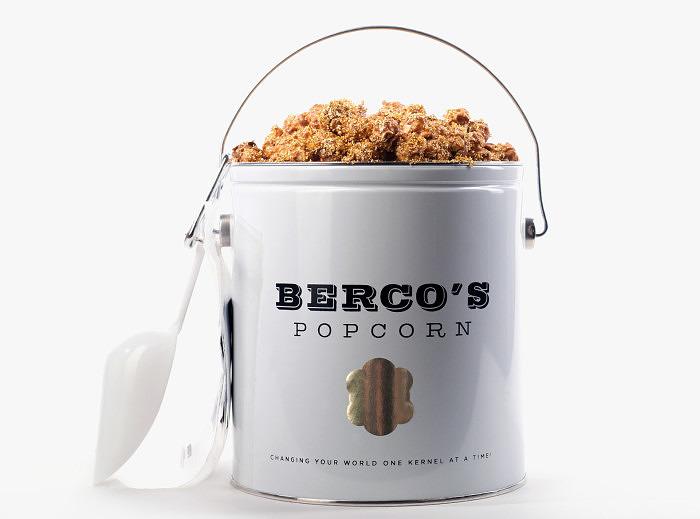 Попкорн Bercos стоит 250 долларов за порцию
