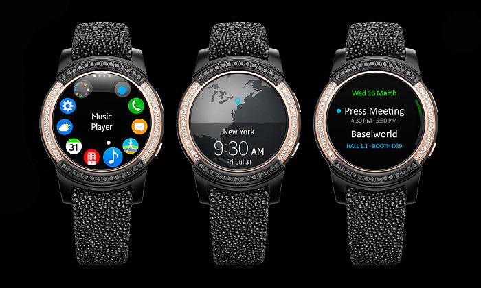 Функции Samsung Gear S2 от de Grisogono