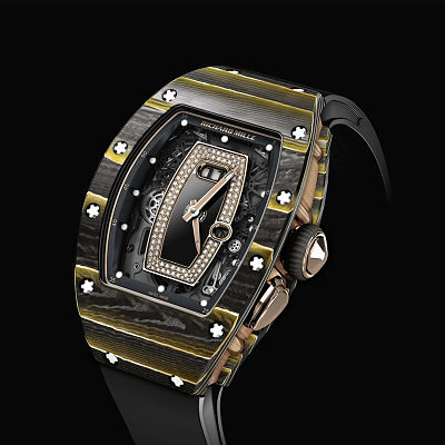Часы RM 037 в корпусе из золота с карбоном