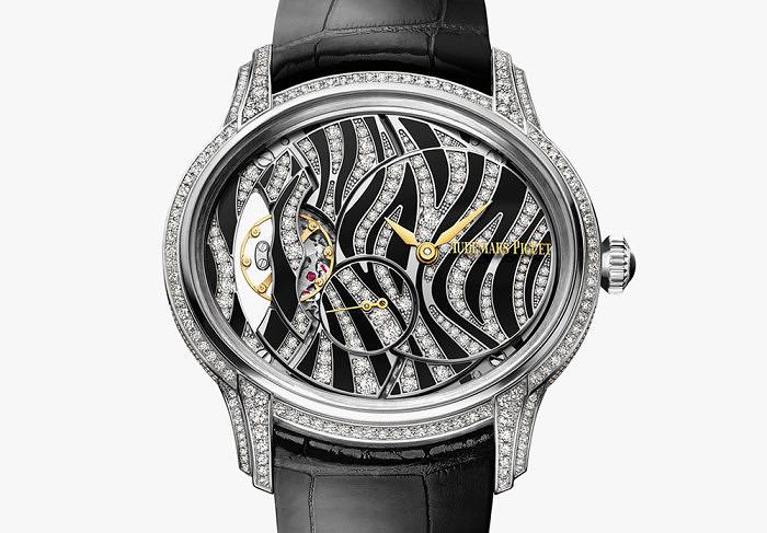 Часы Millenary от Audemars Piguet с бриллиантами и ониксом