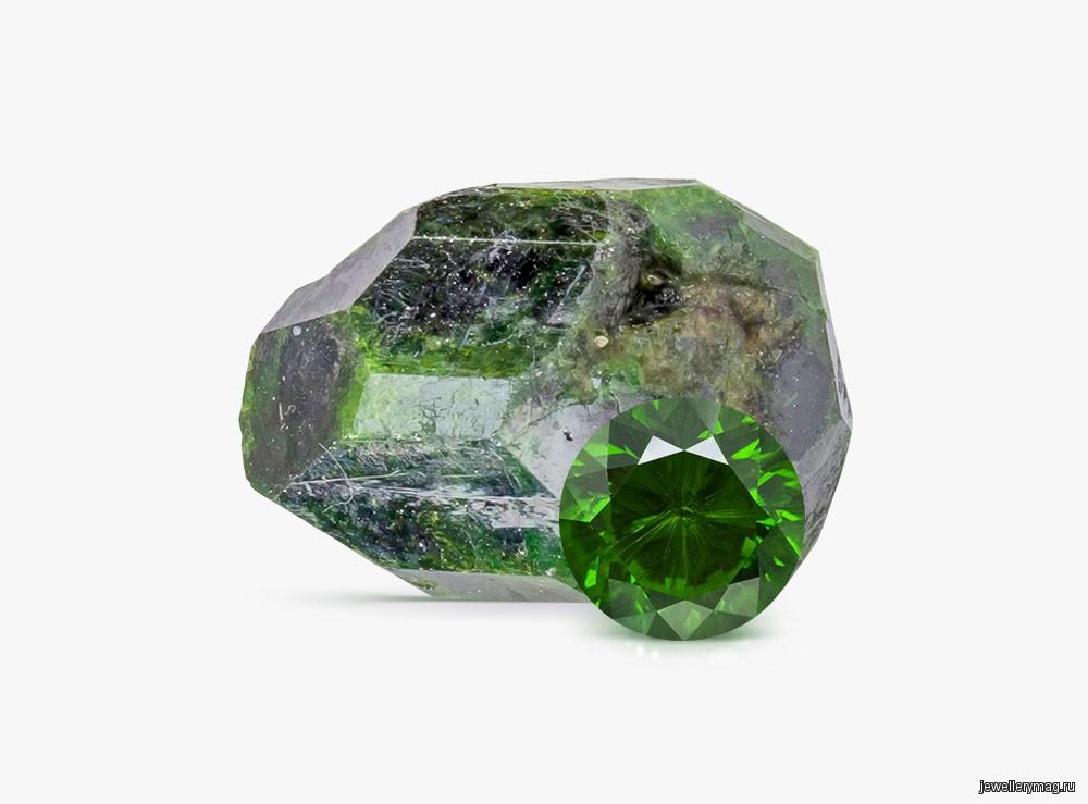 Камень демантоид и его значение по знакам Зодиака