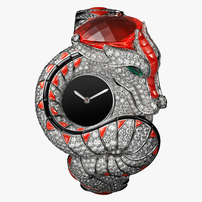 Часы Dragon Mysterieux от Cartier
