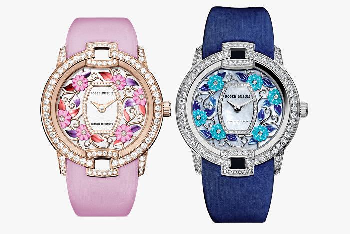 Часы Blossom Velvet Pink и Blossom Velvet Blue