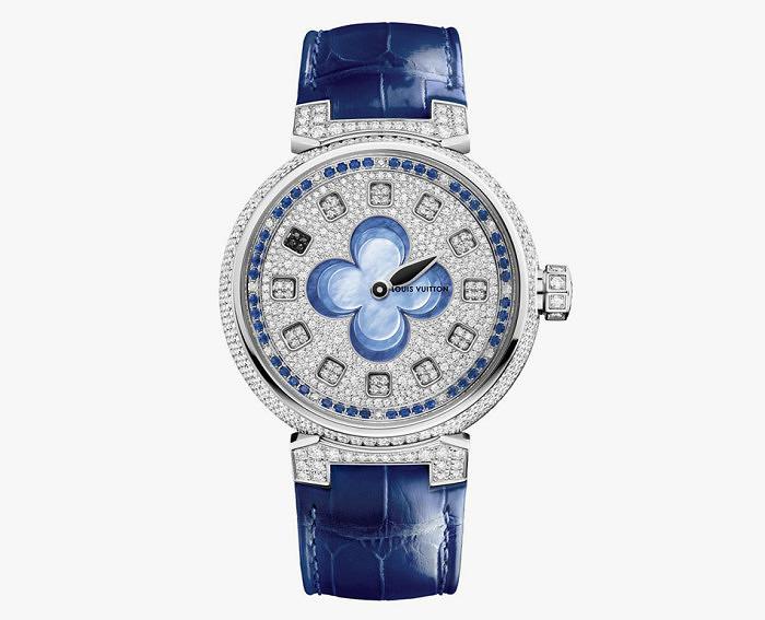 Часы Tambour Monogram Tourbillon от Louis Vuitton