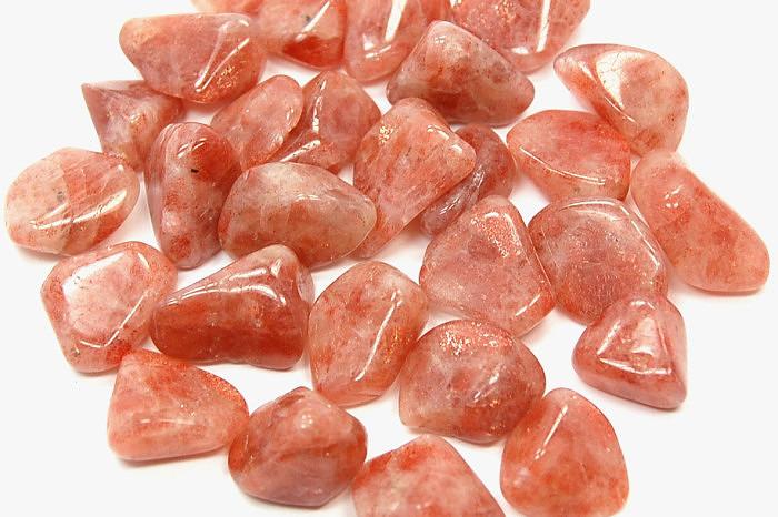 Солнечный камень, галтовка. Фото: healingcrystals.com