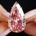 Sotheby's предложит крупнейший розовый грушевидный бриллиант
