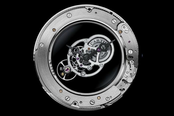 В часах Rotonde De Cartier Astromystérieux используется калибр 9462 MC