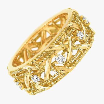 «Плетеное» кольцо My Dior символизирует неразрывные узы любви