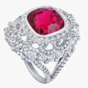 Яркая романтика помолвочных колец Devotion от Fabergé