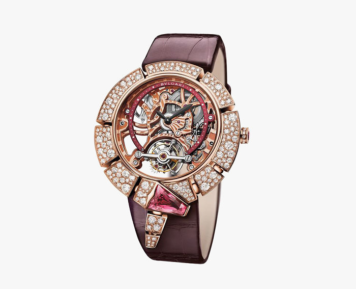 Serpenti Incantati Skeleton Tourbillon от Bulgari