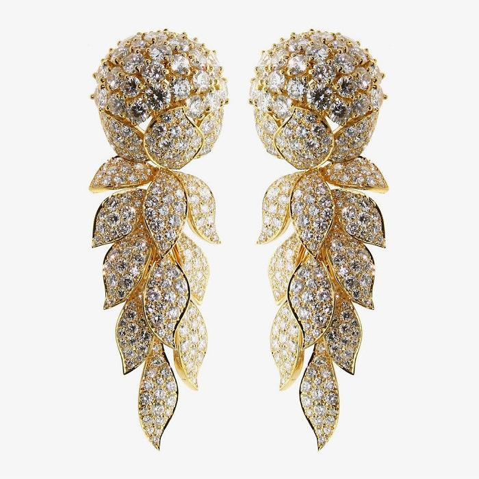 Серьги Cartier с бриллиантами
