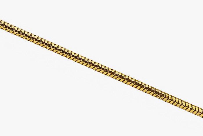 Плетение «Снейк» или ювелирный шнур