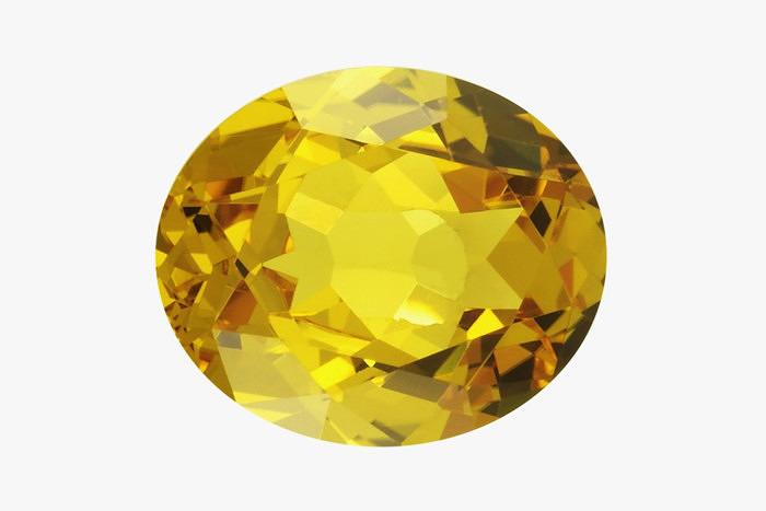 Желтый топаз