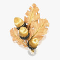 Брошь из 18-каратного золота от Gianmaria Buccellati