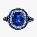 Кольцо из черненого золота от Omi Prive