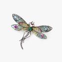 Брошь-цикада René Lalique из золота