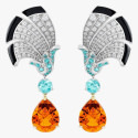 Серьги Van Cleef & Arpels с бриллиантами