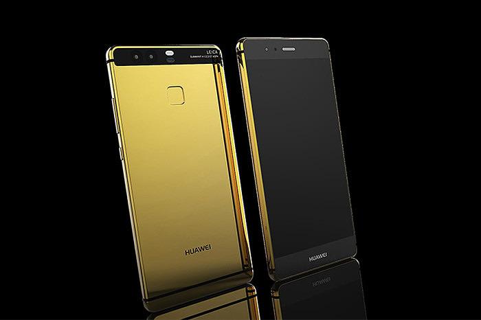 Покрытый золотом Huawei P9