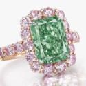 Редчайший зеленый бриллиант продан за 17 миллионов долларов