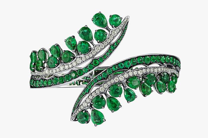 Браслет с изумрудами Gemfields и бриллиантами от VanLeles Diamonds