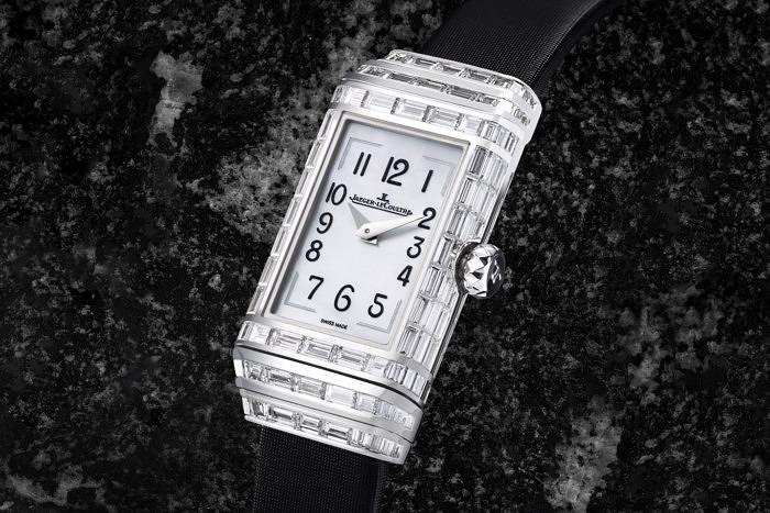 Часы Reverso One High Jewelry от Jaeger-LeCoultre, лицевая сторона