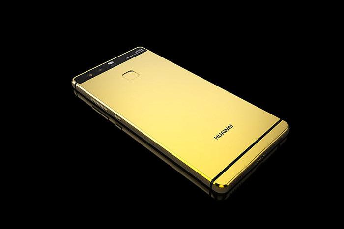 Huawei P9 встал в один ряд с Apple и Samsung в портфолио Goldgenie
