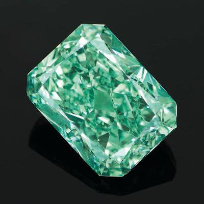 5-каратный бриллиант Aurora Green