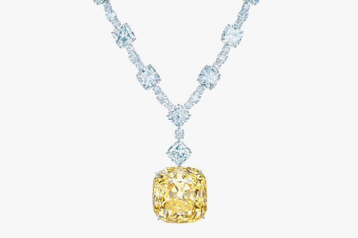 Колье 2012 года с бриллиантом Tiffany Diamond