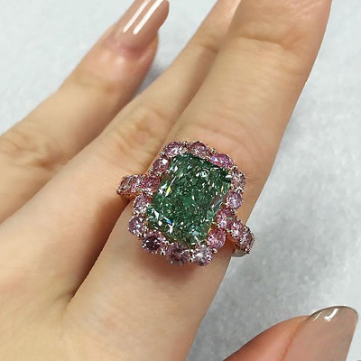 зелений алмаз