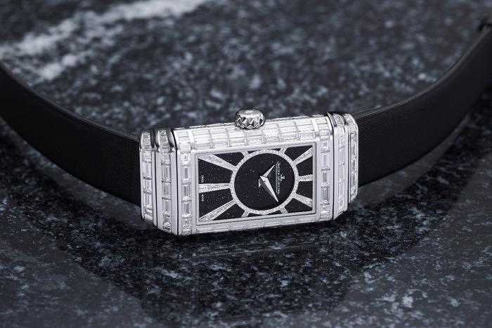 Часы Reverso One High Jewelry от Jaeger-LeCoultre, обратная сторона