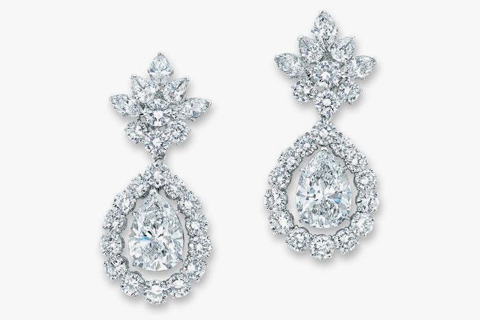 Бриллиантовые серьги Van Cleef & Arpels Christie's