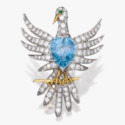 Брошь из золота от Schlumberger для Tiffany & Co