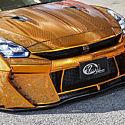Покрытый золотом Nissan GTR за миллион долларов