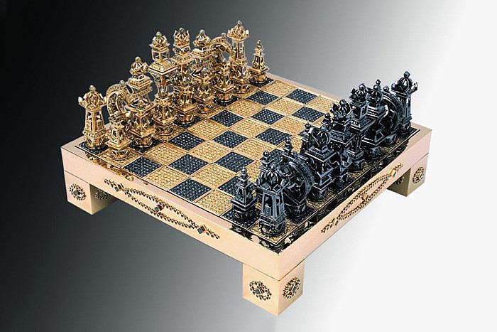 Золотые шахматы Royal Chess Set