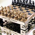 Шахматы из чистого золота за 370 000 долларов