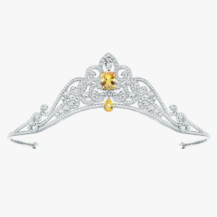 Изящная бриллиантовая тиара Garrard