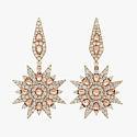 Серьги-звезды с бриллиантами от Shawn Warren