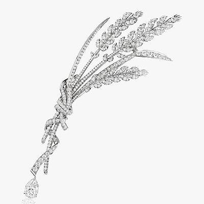 Брошь с бриллиантовой пшеницей La Nature de Chaumet