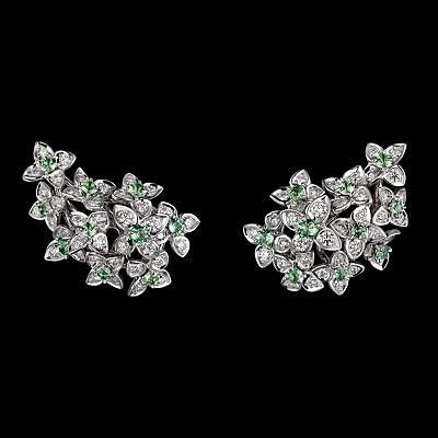 Серьги с цветами мадрагоры из линейки «Магия яви» (природа), коллекция Magicien